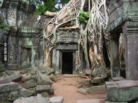 Abandoned places: Angkor War, Cambodia | Modern Ruins, Decay and Urban Exploration | Scoop.it