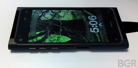 LEAKED: This Is Amazon's 3-D Smartphone | Technology improvments and evolution of the society | Scoop.it