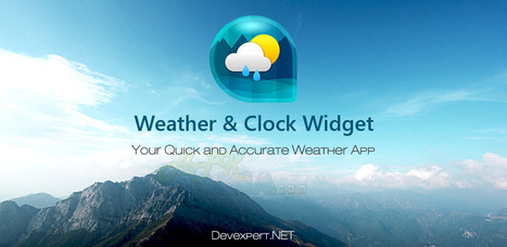 Weather & Clock Widget 1.0.1 apk [Full version]   Android Themes   Scoop.it