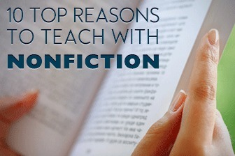 10 Top Reasons to Teach with Nonfiction in the ESL Classroom | Reading for English teachers | Scoop.it