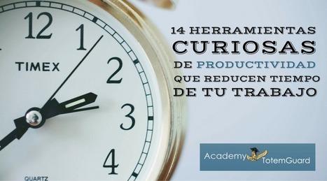 14 Herramientas curiosas de productividad que reducen tiempo de tu trabajo | ED|IT| | Scoop.it