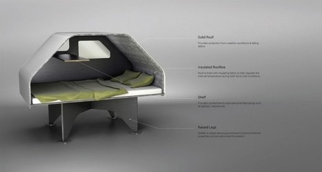 Easy-to-assemble flat pack trailer can be used as emergency shelter or for glamping | BOB to BOL by BOV | Scoop.it