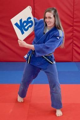 Anne Archer judo