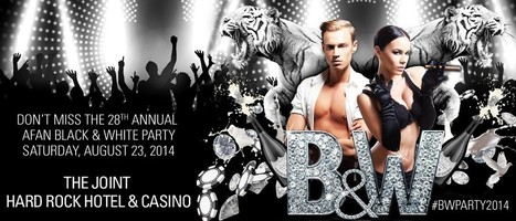 DON'T MISS THIS EVENT!  Black & White Party 2014 - Saturday, August 23 | Gay Vegas Daily | Scoop.it