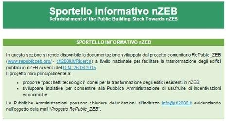 Sportello informativo nZEB - Certificazione energetica degli edifici | Edifici a Energia Quasi Zero | Scoop.it