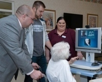 Nursing home residents connect with relatives through technology - Citizens Voice | Nursing Home Hampton | Scoop.it