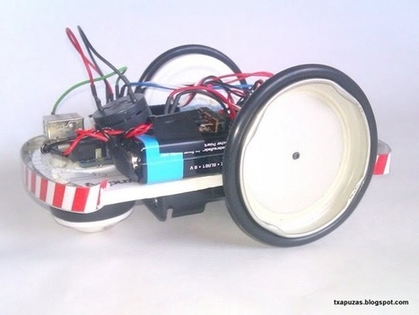 Txapuzas electrónicas: PaperRobot: Robot simple con Arduino | Raspberry Pi | Scoop.it
