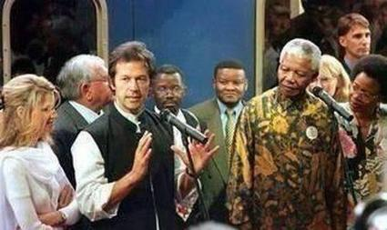 Twitter / ImranKhanPTI: Historic pic with Mandela the ... | actualité | Scoop.it