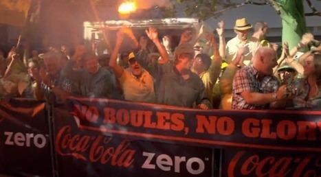 Coca-Cola Zero transforme un moment de pêche, une partie de pétanque et un club de tricot en fête géante | streetmarketing | Scoop.it