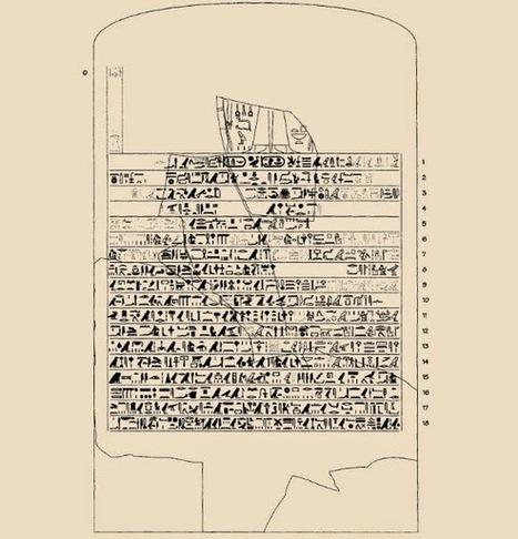 La stèle de la tempête bouscule la chronologie des empires de l'Âge du Bronze | Les découvertes archéologiques | Découvertes achéologiques en Egypte | Scoop.it