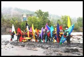 Descente en kayak et rafting du rio Cinca le 17 mai  | Villa de Aínsa | Vallée d'Aure - Pyrénées | Scoop.it