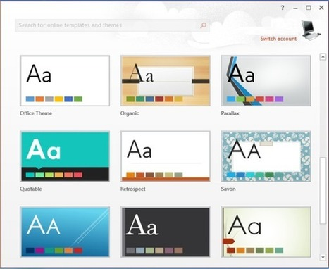 New Features Of Microsoft PowerPoint 2013 | WML Cloud | iOS, WP8, Mac, Linux, | Scoop.it