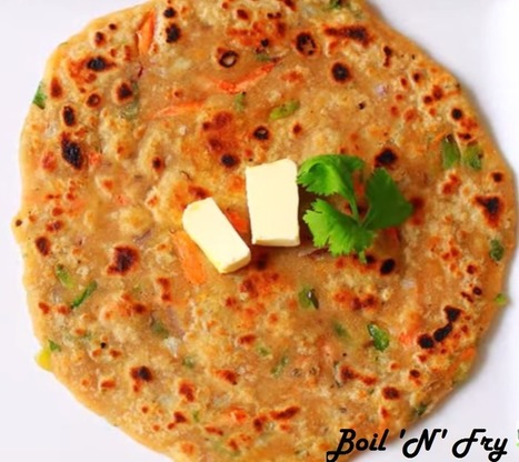 How to make Mixed Vegetable Paratha | Veg Paratha Recipe | Boil 'N' Fry | Boil N Fry | Scoop.it
