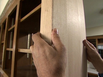 How to Reface and Refinish Kitchen Cabinets : How-To : DIY Network | Eclectic Kitchen Design | Scoop.it