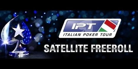 PokerStars.it lancia gli IPT Satellite Freeroll: un pacchetto in palio dopo ogni tappa! | Italiapokerclub | Poker & Tv | Scoop.it