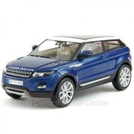 Range Rover Evoque - 2011 - blue - 1:43 IXO   RR Evoque   Scoop.it