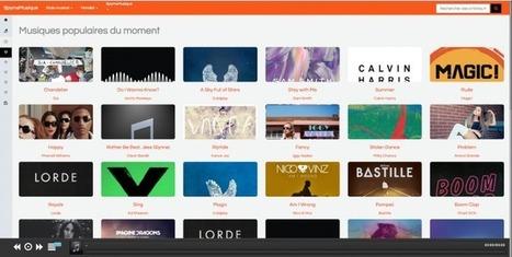 SpymsMusique, la musique en streaming entièrement gratuite ! | Agence BWA - Veille | Scoop.it