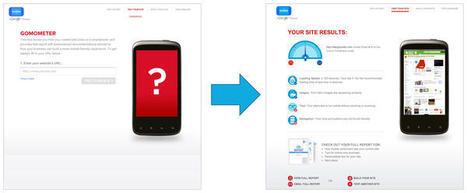 Google GoMo : un outil de conseil pour la création de sites mobiles | Les Outils - Inspiration | Scoop.it