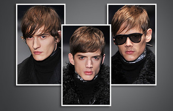 Men's Hairstyles with Fringes