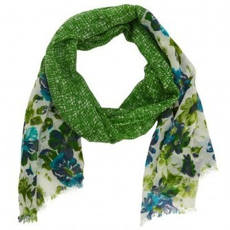 Caitlin Floral Scarf - Summer - Season | scarfuniverse | Scoop.it