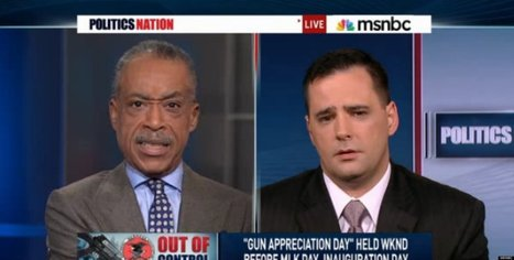 WATCH: Al Sharpton Rips Gun Advocate Over Slavery Reference | Al Sharpton | Scoop.it