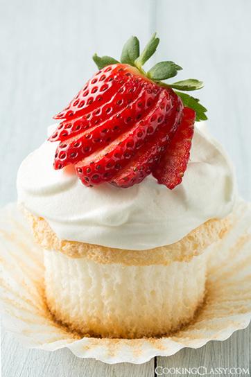 Angel Food Cupcakes | Intentando cocinar | Scoop.it