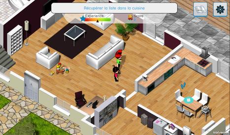 Un serious game pour sensibiliser sur les dangers domestiques | Serious-Game.fr | E-LEARNING | Scoop.it