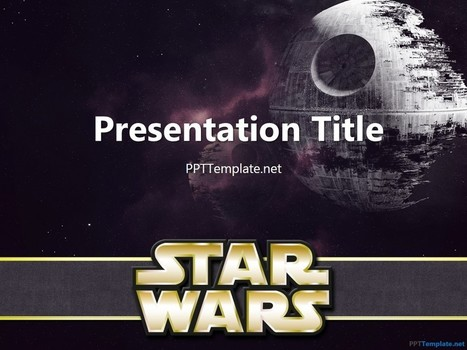 Free Star Wars With Logo PPT Template | Free PPT Templates | Scoop.it