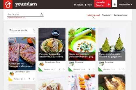 Youmiam Is A Soundcloud For Recipes Coming Out Of France   TechCrunch   smart phone   Scoop.it