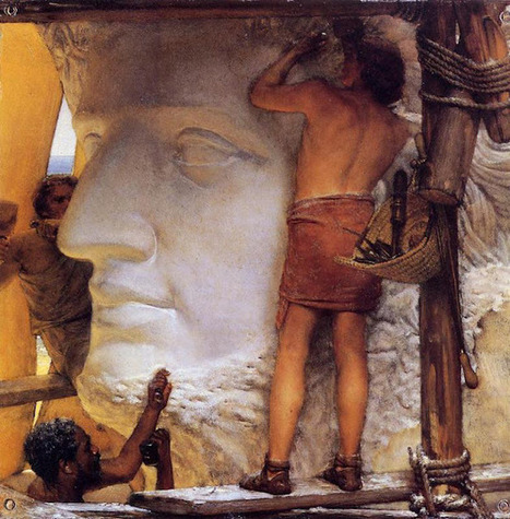 Sculptors in Ancient Rome - Oil Painting by Dutch Artist Sir ...   Roman Archaeology   Scoop.it