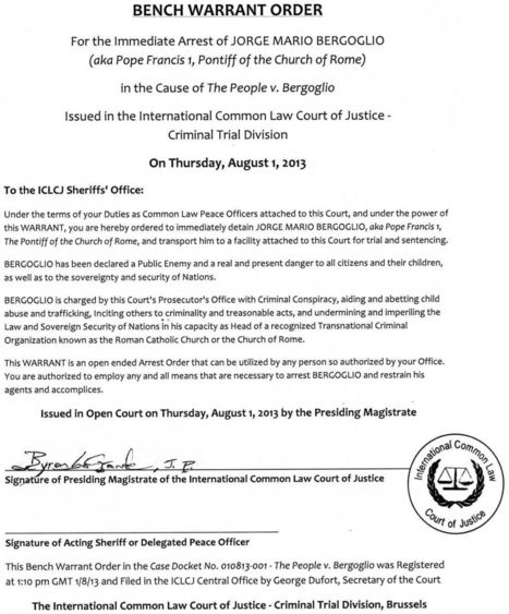 Bench Warrant Order from ITCCS)   child abuse   Scoop.it