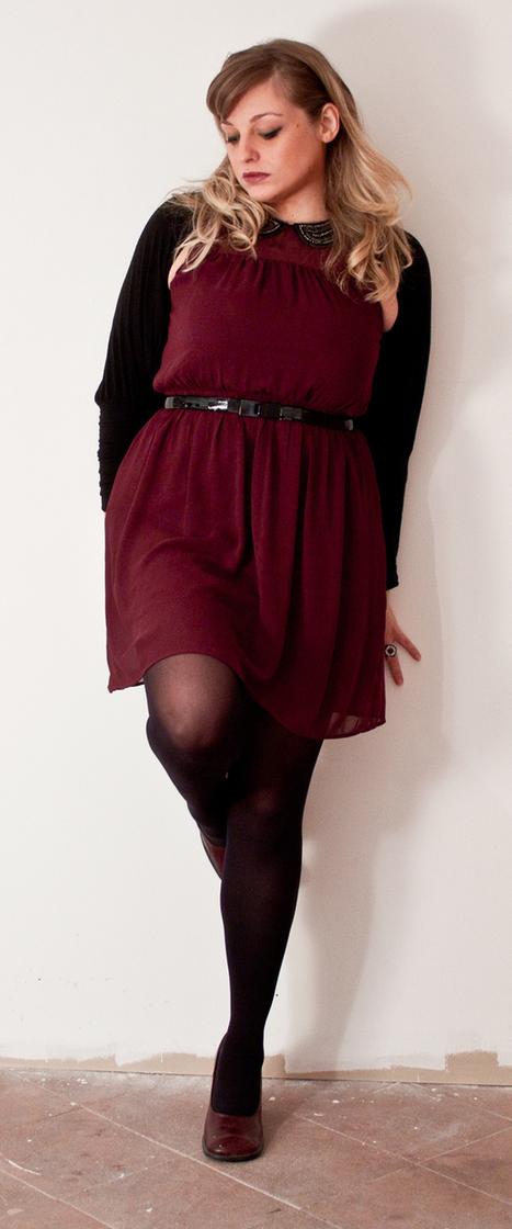 Curvy Outfit: trasparenze e colletti gioiello secondo ZARA. | Curvy ... | magazine curvy | Scoop.it