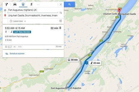 Google Maps Offers Dragon As Public Transportation Option | Tourism Social Media | Scoop.it