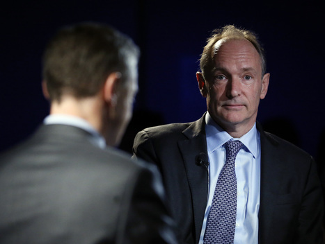 Web Inventor Berners-Lee Warns Forces Are 'Trying To Take Control' | Canadian Internet Forum | Scoop.it