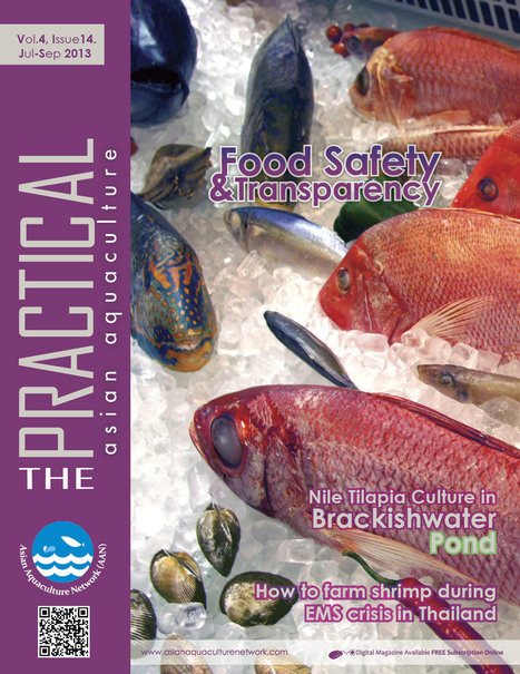 """MAGAZINE: Asian Aquaculture """"The Practice"""" - July / September - Volume 4, Issue 14 