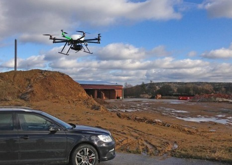 Terrestrial LiDAR and UAV Aerial Triangulation for Open Pit Mines | sUAS News | UAV640 Dirigeable & Drone | Scoop.it