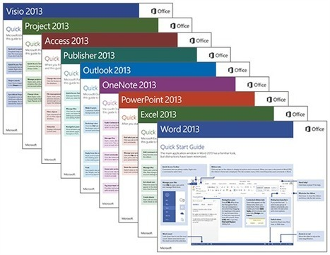 Office Blogs - Download our free Office 2013 Quick Start Guides | Cotés' Tech | Scoop.it