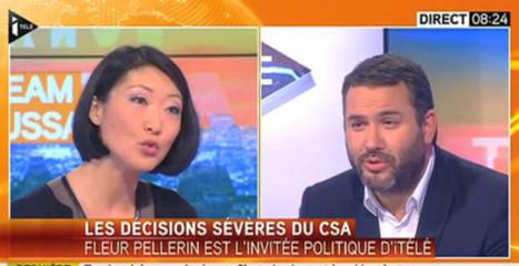 Fleur Pellerin veut «donner un cadre plus clair aux journalistes»   DocPresseESJ   Scoop.it