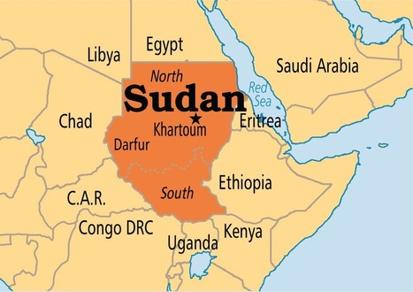 Mighty Map of Sudan | Espositista-Aliga, Sudan | Scoop.it