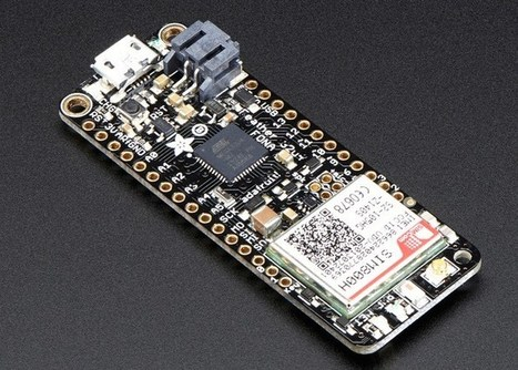 Adafruit Feather 32u4 FONA Launches For $44.95 - Geeky Gadgets | Raspberry Pi | Scoop.it