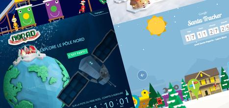 Microsoft et Google se lancent sur la piste du Père Noël 2013 - Geeks and Com' | Communication | Scoop.it
