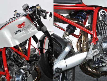 Return of the Cafe Racers: Moto Brilliance Ducati 1000 Cafe Racer | Ductalk | Scoop.it