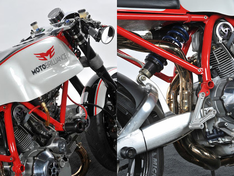 Return of the Cafe Racers: Moto Brilliance Ducati 1000 Cafe Racer | Ductalk Ducati News | Scoop.it