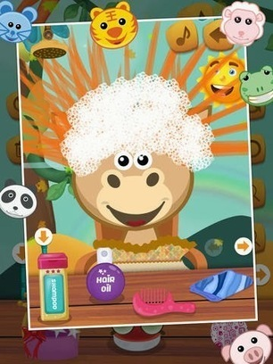 Free Download Animal Hair Salon iPhone Game | iPhone App Source Code | Scoop.it