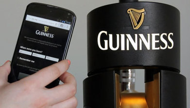 Guinness adds NFC to founts across UK and Ireland - NFC World | Booze | Scoop.it