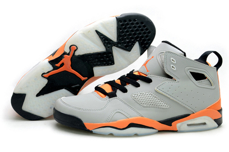 Jordan Flight Club 91 - Mens Nike Jordans with Orange and Grey | new and share style | Scoop.it