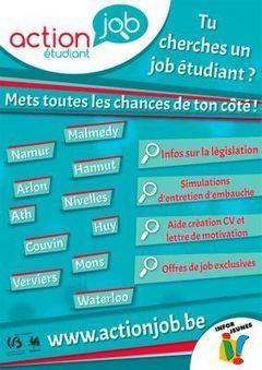 Action Job étudiant | Infor Jeunes Tournai | Scoop.it