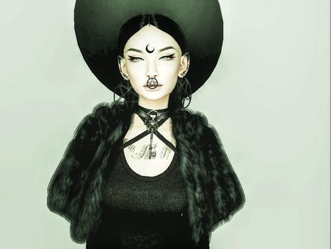 Black magic | 亗  Second Life Fashion Addict  亗 | Scoop.it