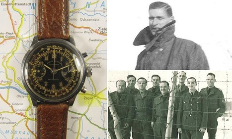 Rolex watch worn by RAF officer as helped with Great Escape for sale | British Genealogy | Scoop.it