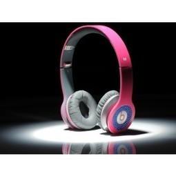 Beats by Dr. Dre Solo Diamond Blue Headphones Rose Red MB189 | Diamond Solo Beats by Dre online | Scoop.it